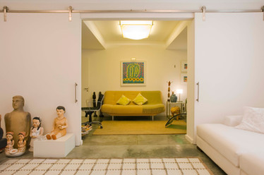 Apartamento Leme - escritório e quarto de hóspede