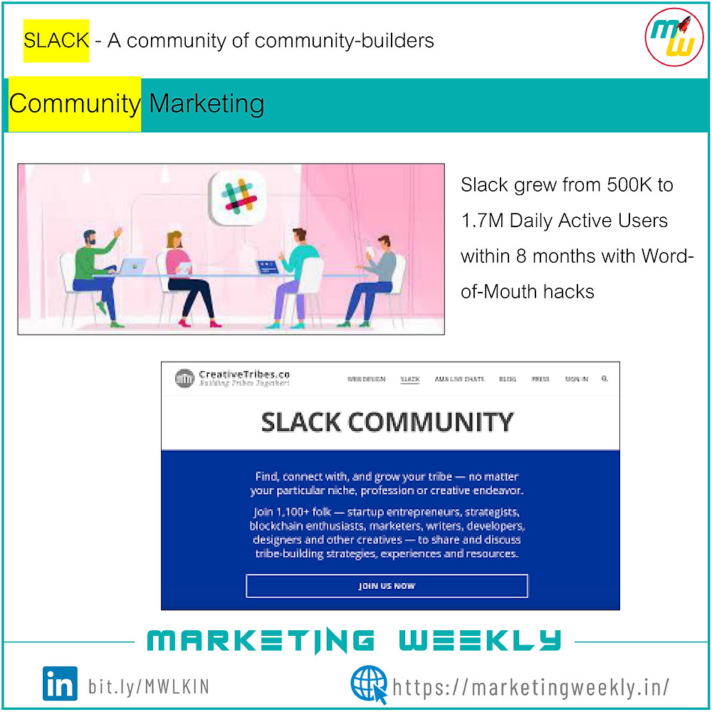 Community Marketing - SLACK