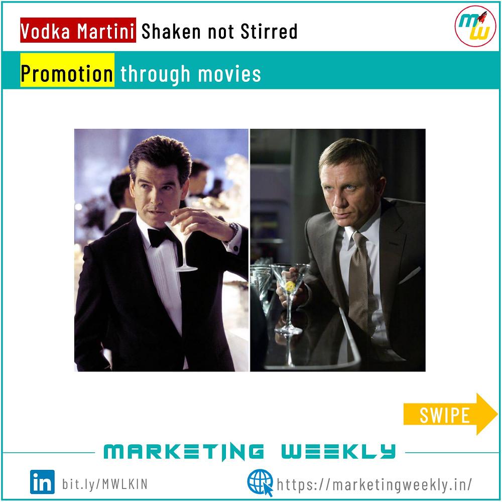 Promotion through movies - Surrogate Marketing
