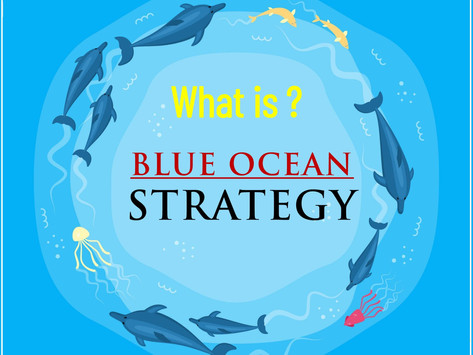 Blue Ocean Strategy - An uncontested market space