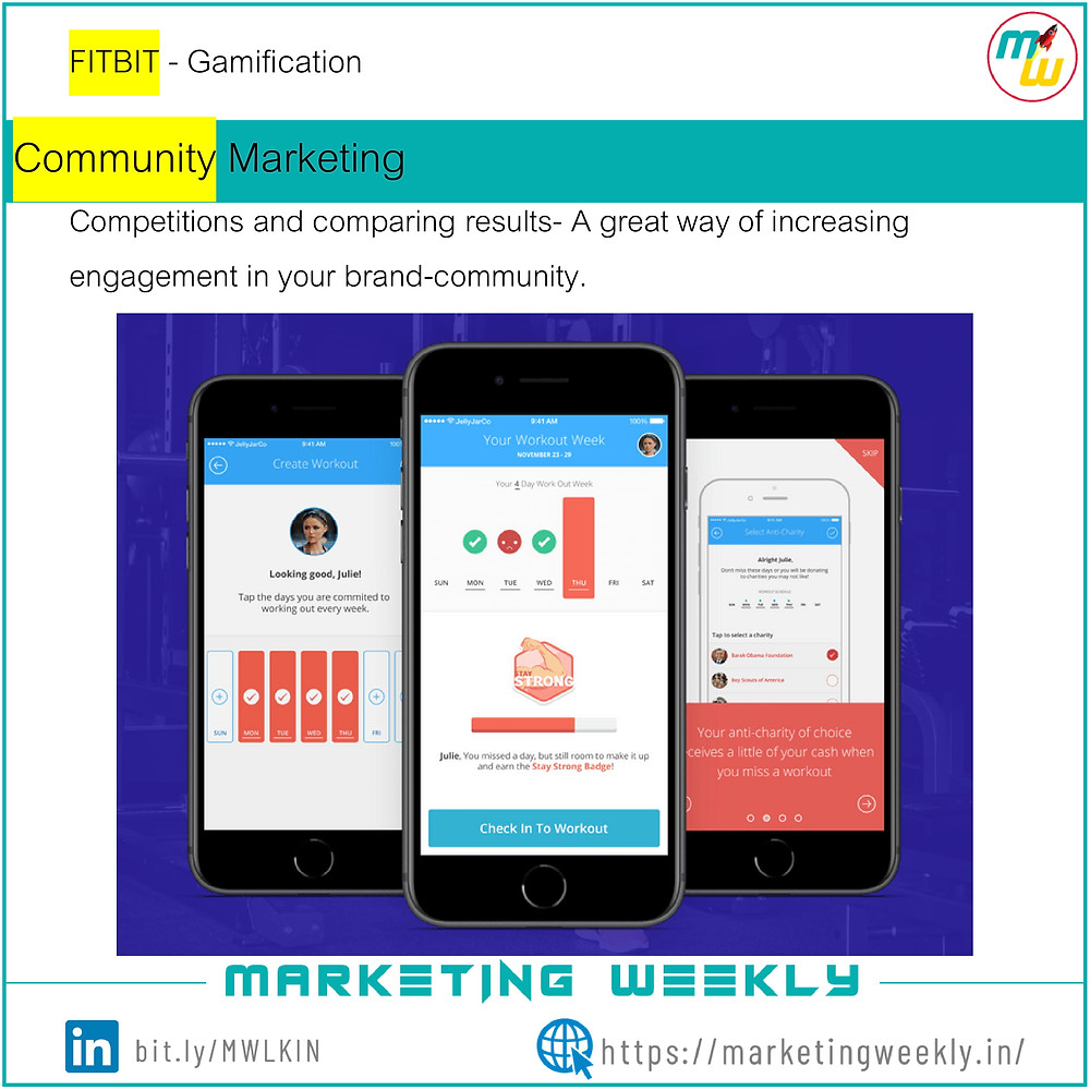 FITBIT Gamification