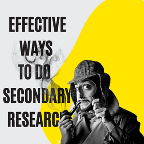 Effective ways to do secondary research