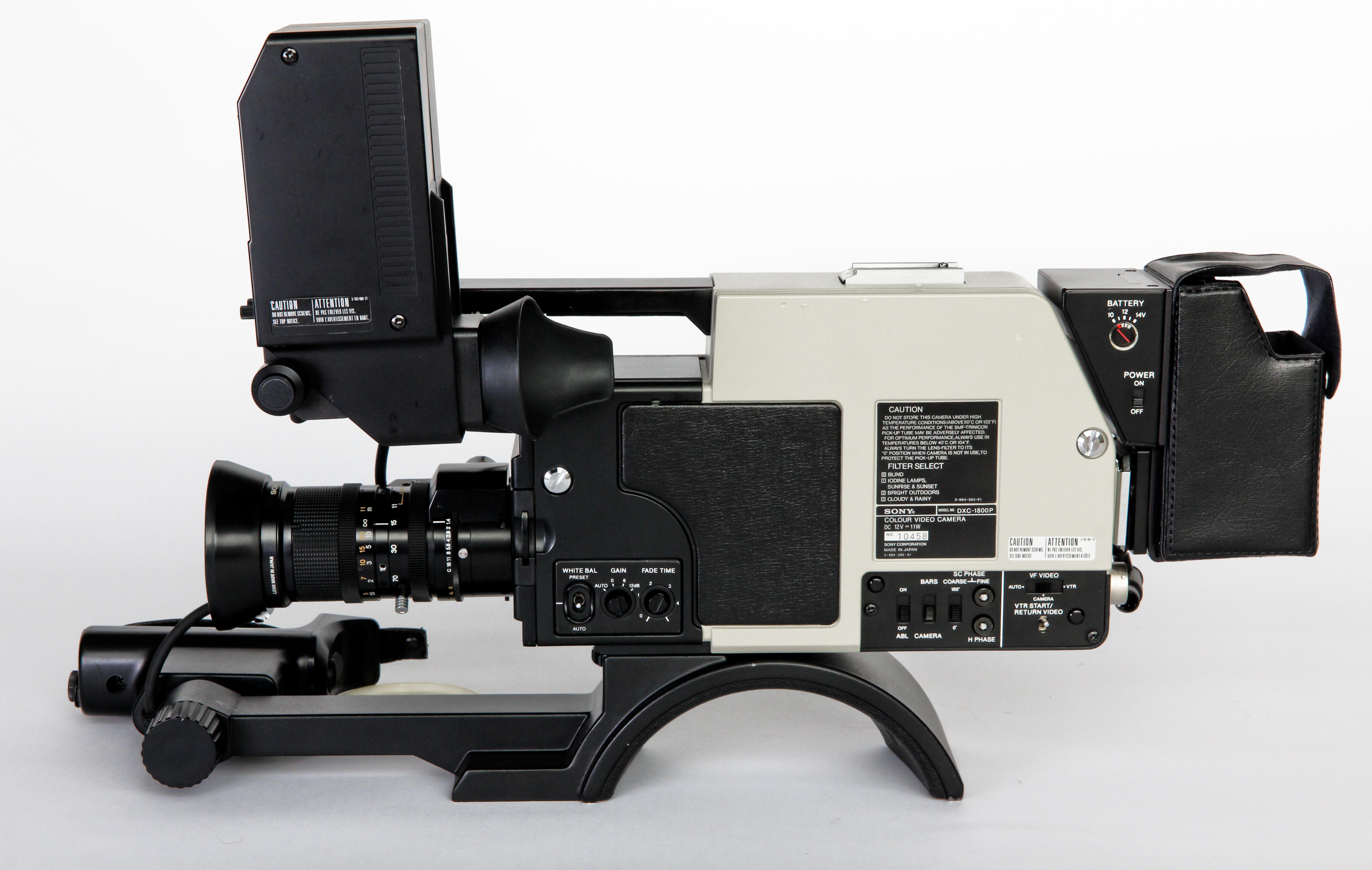 Sony DXC-1800P