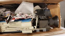 RCA TK76-B Zustand nach der Lieferung -