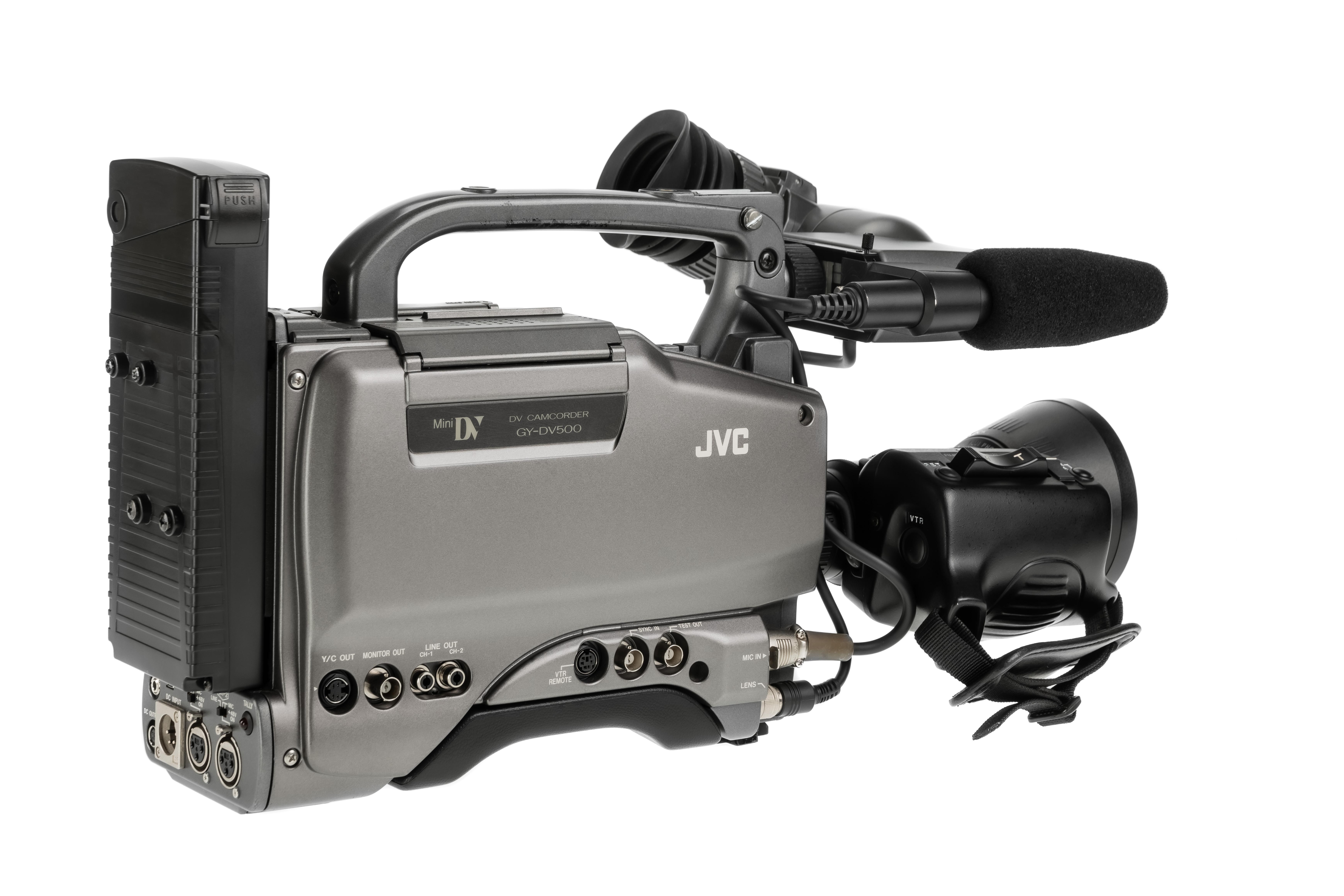 JVC GY-DV500E - 3
