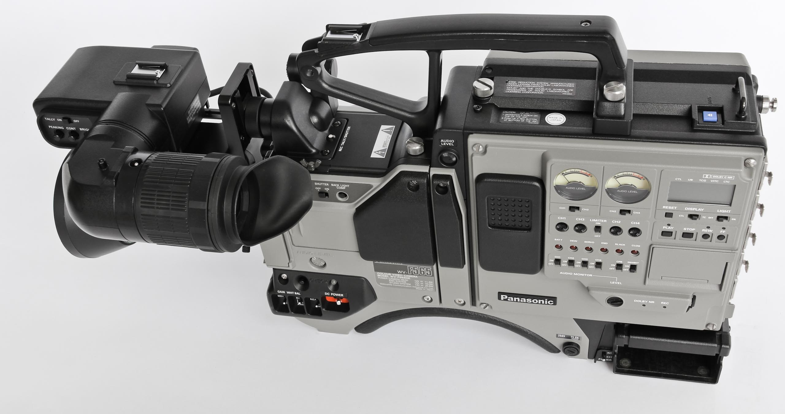Panasonic WV-F565E and AU-410-E (5 von 11)