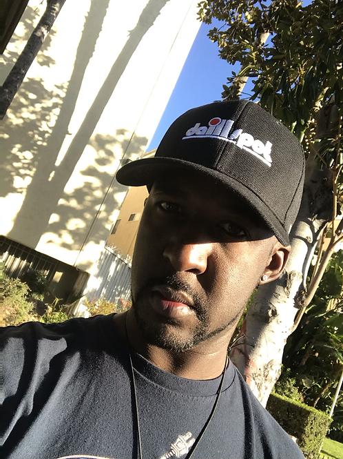 Da ILL Spot Black Dad Hat