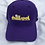 Thumbnail: Da ILL Spot Purple Dad Hat