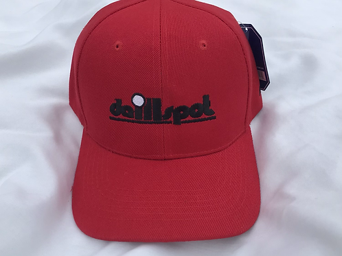 Da ILL Spot Red Dad Hat