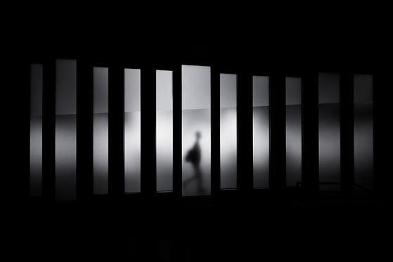 sombra humana fosca
