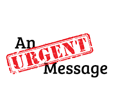 An Urgent Message to All!