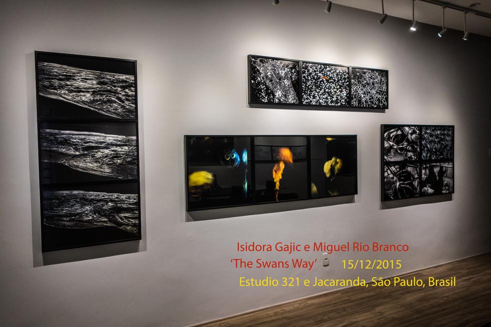 Dual show: Miguel Rio Branco & Isidora Gajic, 2015, Sao Paulo, Brazil