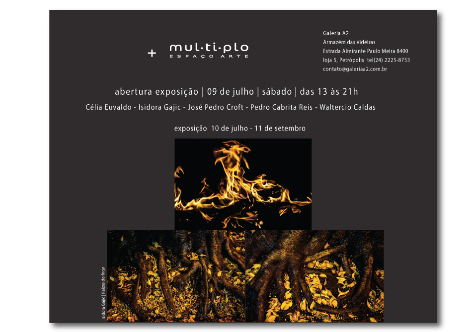 Group show, Gallery Multiplo, Jun 2017, Petropolis, Brazil