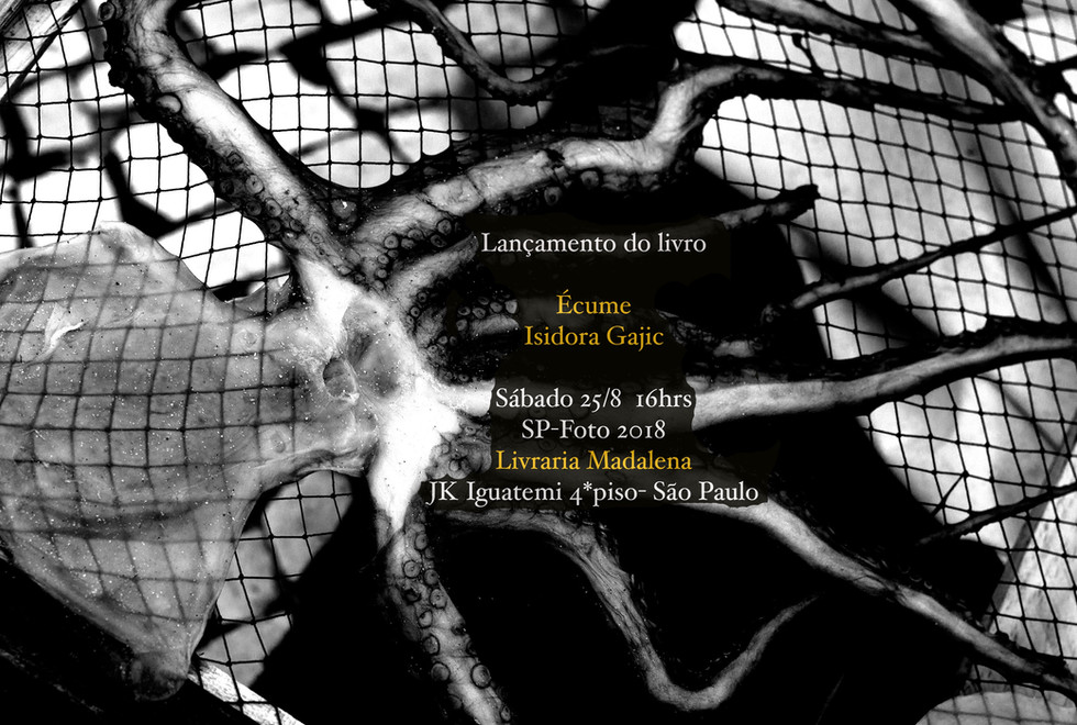 Ecume book sigining, August 2018, Sao Paulo, Brazil