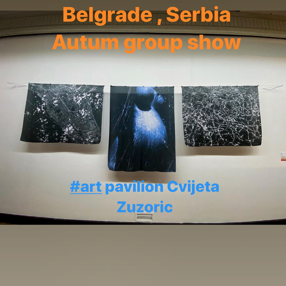 Art Pavilion Cvijeta Zuzoric, Atumn group show ULUS, December 2020 - January 2021