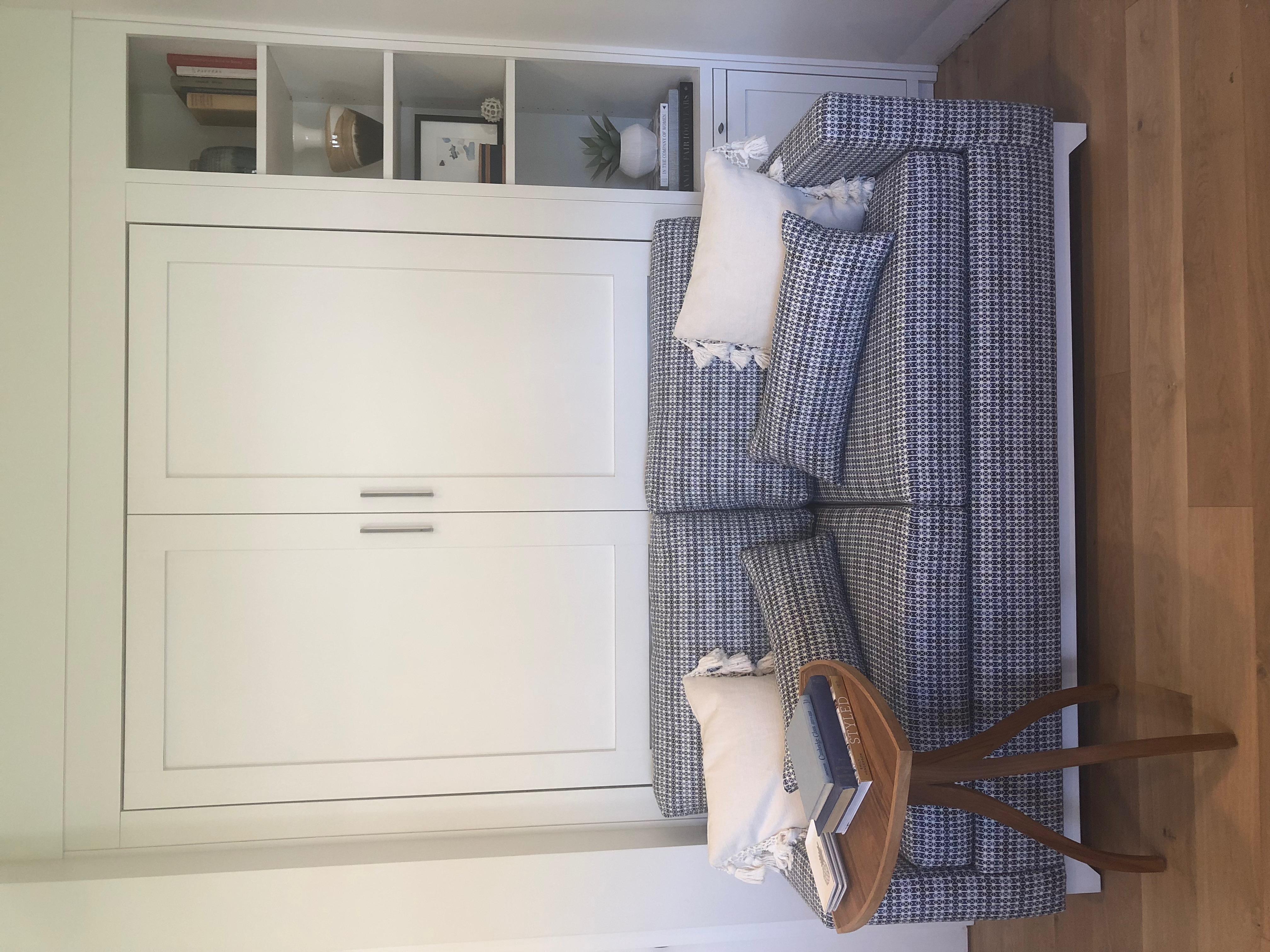 MURPHY BED WITH CUSTOM SOFA