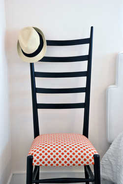 KATE SPADE RECOVERED CHAIR