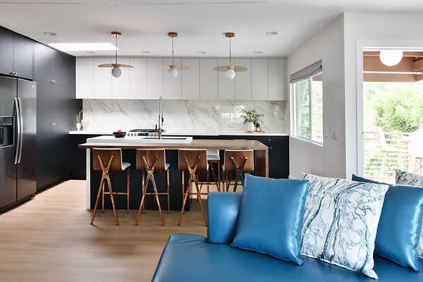 Penthouse interior rmodel kitchen
