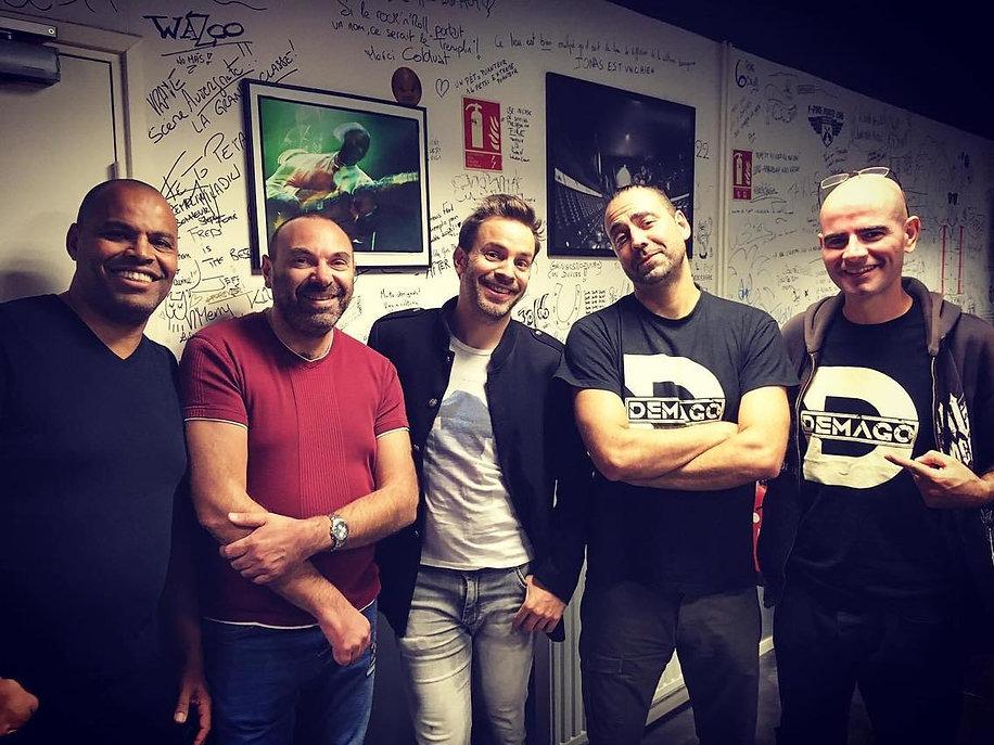 ALBATTOR & DEMAGO backstage concert 09/10/2019 @ LE TREMPLIN Beaumont 63