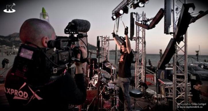 albattor batteur festival massilia rock nobless concert scène gilles lartigot capitaine kirk valérie baccon serial drummer franky costanza la baguetterie