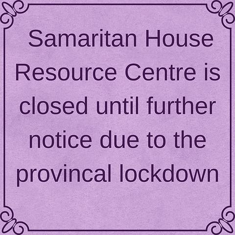Samaritan House Resource Centre is close