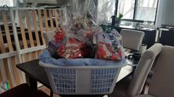 Beautiful Christmas Basket