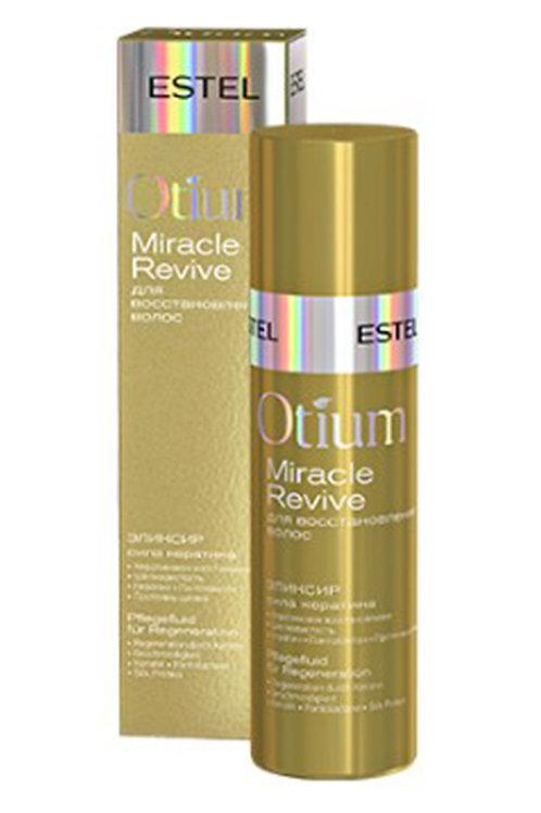 """Estel Otium Miracle revive Эликсир для восстановления волос """"Сила кератина"""" 10.."""