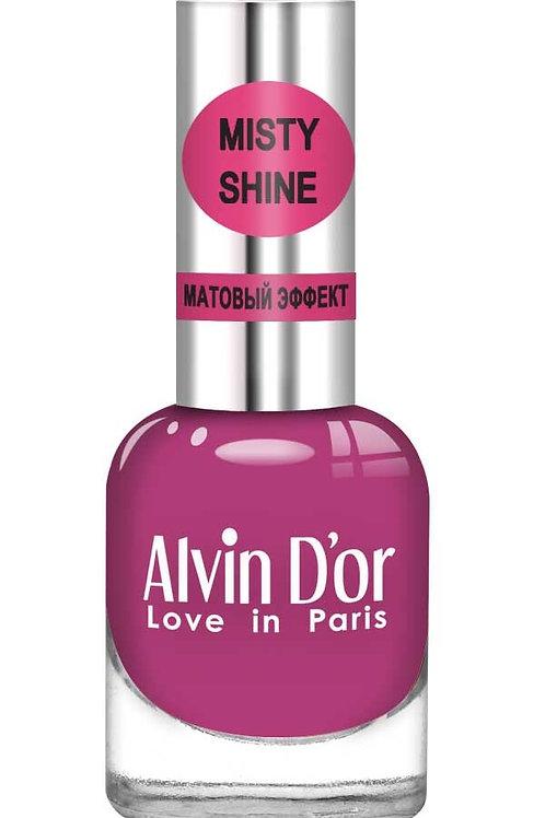 "Alvin D'or Лак д/ногтей Misty shine тон 514 ""Вишневое варенье"""