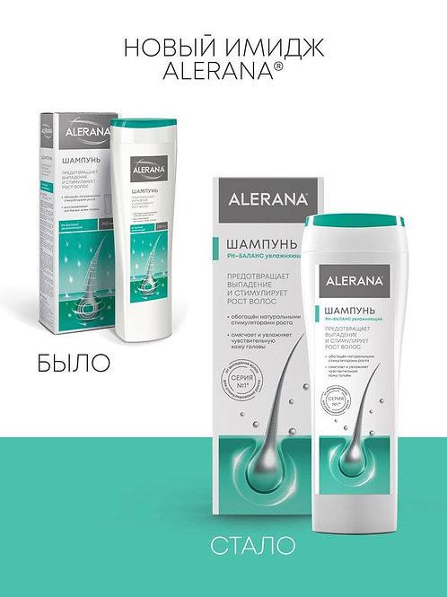 Alerana Шампунь для волос, ph-баланс, увлажняющий, 250 мл