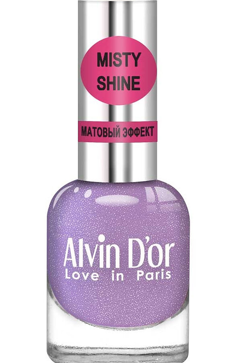"Alvin D'or Лак д/ногтей Misty shine тон 513 ""Темный александрит"""