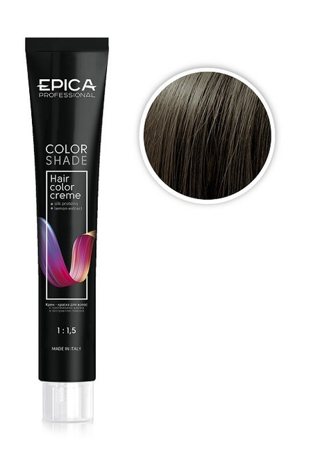Epica Крем-краска темно-русый морозный шоколад, 6.18 100 мл