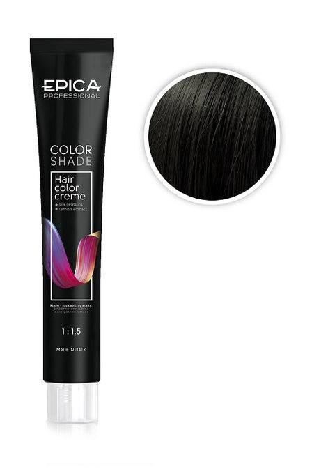 Epica Крем-краска шатен холодный, 4.0 100 мл