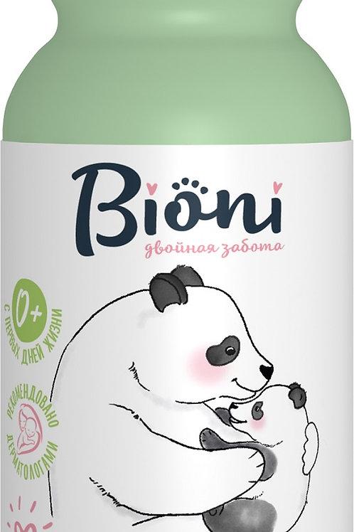 Bioni Детский Нежный шампунь с Д - пантенолом, календулой и экстрактом зародыш..