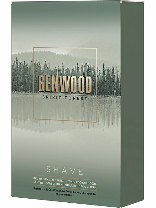 ESTEL PROFESSIONAL Косметический набор ALPHA HOMME GENWOOD для бритья shave 25..