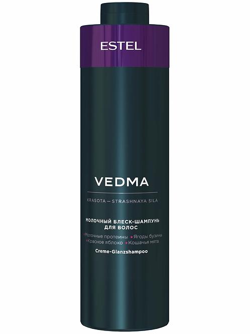 ESTEL PROFESSIONAL Шампунь VEDMA для блеска волос молочный 1000 мл