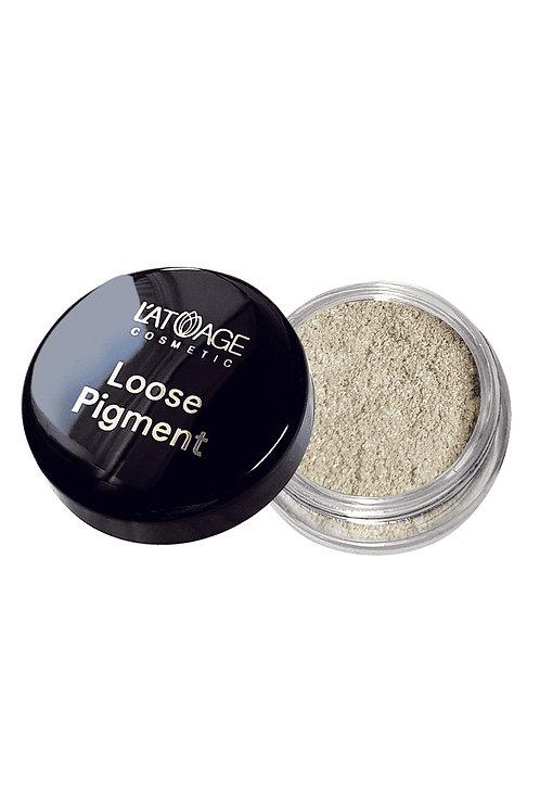 Тени-пигмент L'atuage Cosmetic  Loose Pigment тон 607 сияющий аквамарин 2 г