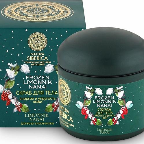 """Natura Siberica Frozen Limonnik Nanai Скраб для тела """"Энергия и упругость кожи.."""