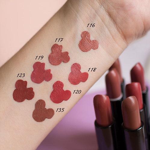 """Belor Design Помада для губ """"Smart Girl Be Color"""" тон 118 молочный шоколад"""