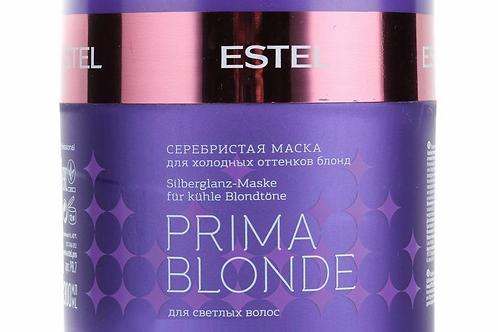 Estel Professional Prima Blonde - Серебристая маска для холодных оттенков блон..