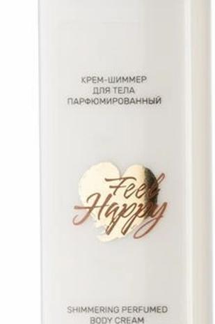 Белита-М Крем-шиммер Feel Happy, для тела, парфюмированный, 190 г