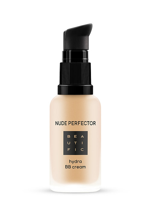 BEAUTIFIC BB-крем для лица с гиалуроновой кислотой тонирующий Nude Perfector  ..