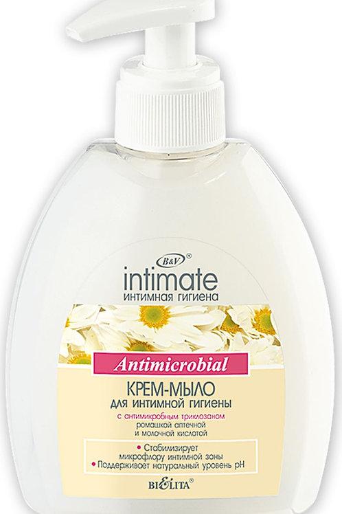Белита Крем-мыло для интимной гигиены с антимикробным триклозаном, 300 мл