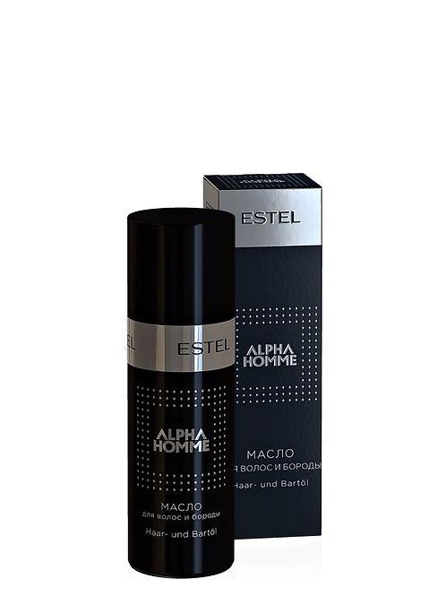ESTEL PROFESSIONAL Масло ALPHA HOMME для волос и бороды 50 мл