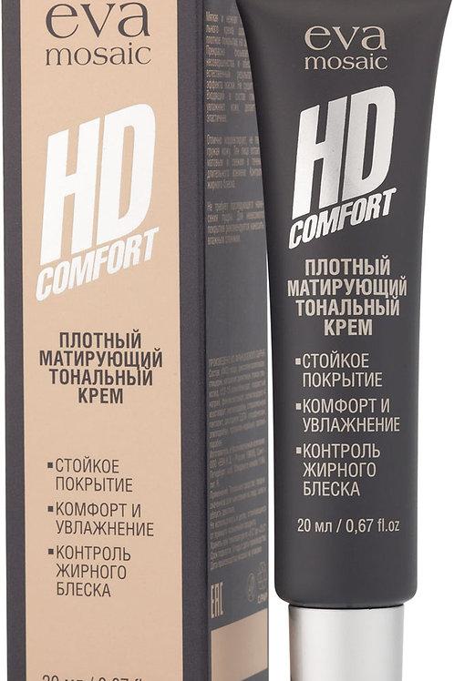 Eva Mosaic Тональный крем HD Comfort ухаживающий , 01 фарфор