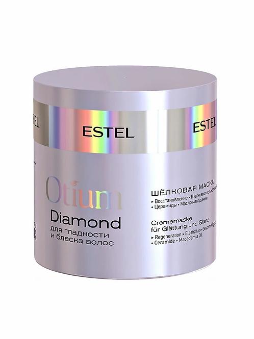 Estel Professional Шёлковая маска для гладкости и блеска волос OTIUM DIAMOND, ..