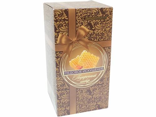 Compliment подарочный набор для женщин, медовое искушение, горячее медовое обе..