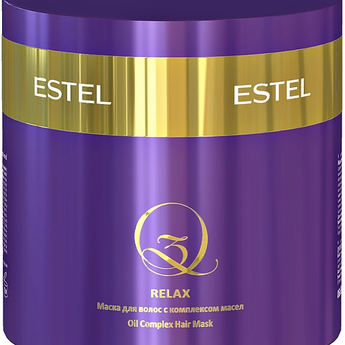Маска для волос ESTEL PROFESSIONAL Q3 после процедуры экранирования relax 300 мл