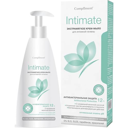 Compliment Intimate Крем-мыло экстрамягкое для интимной гигиены, 250 мл