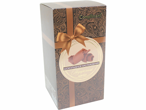 """Compliment , подарочный набор для женщин """"Шоколадное наслаждение"""", шоколадное .."""