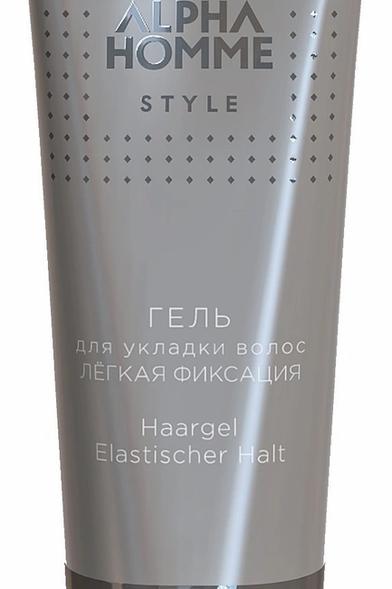 ESTEL гель для волос легкой фиксации ALPHA HOMME STYLE, 50 мл
